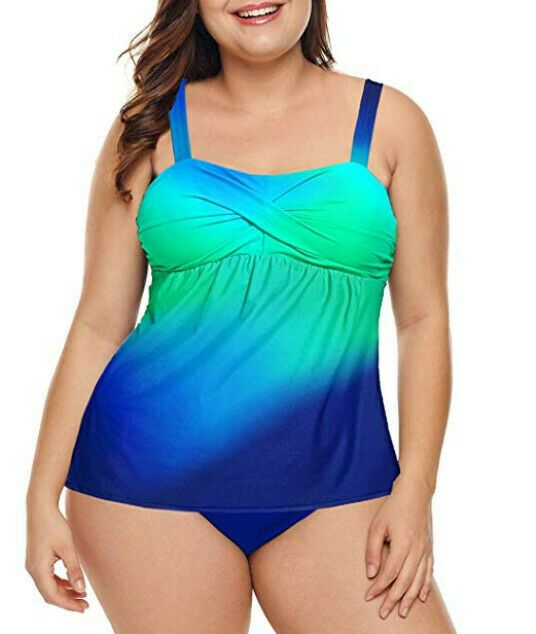tankini plus size Lalagen #fashion #clothing #shoes #accessories #womensclothing... 6