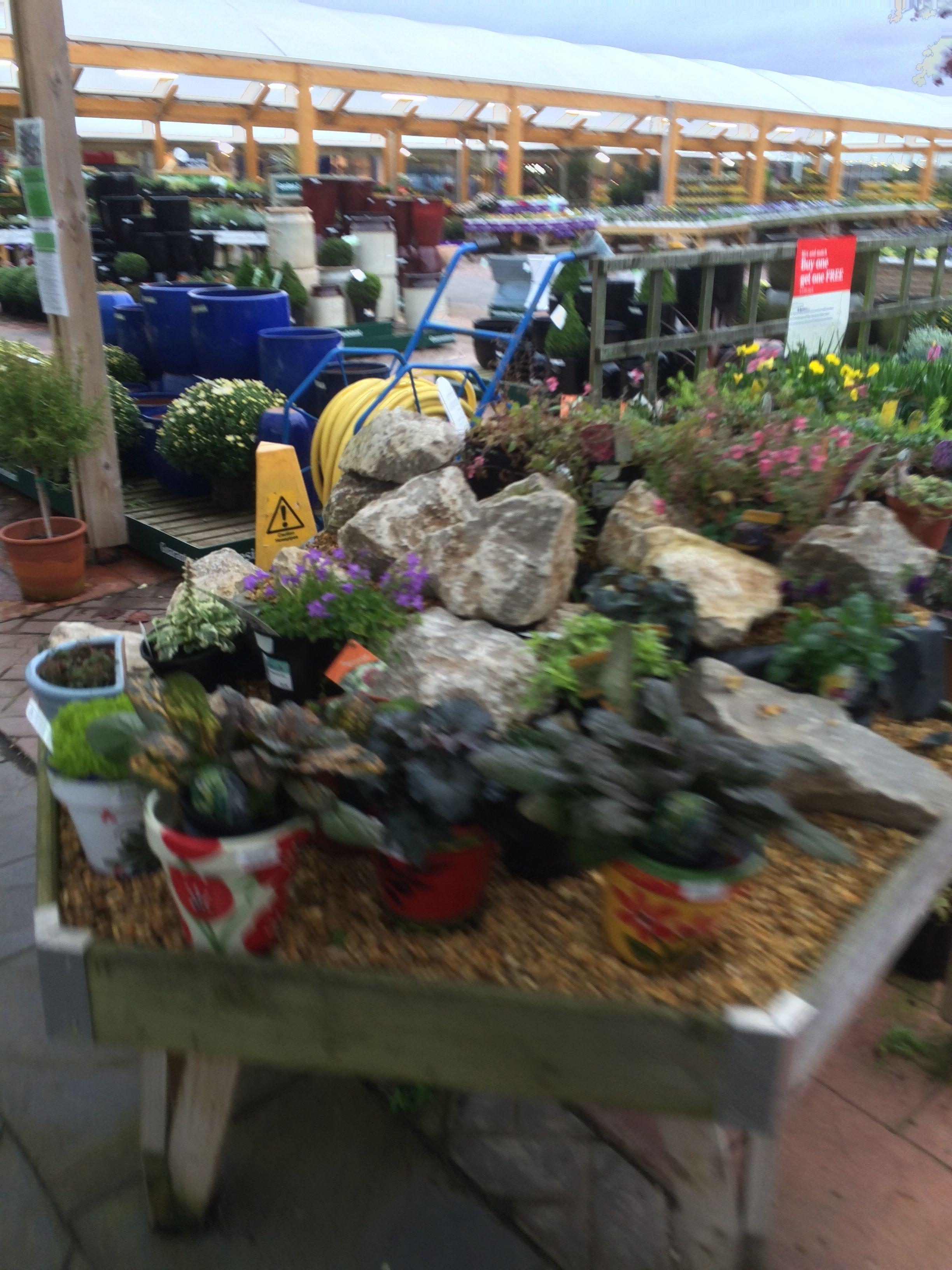 Wyevale Bridgemere Garden Centre Garden Retail Layout