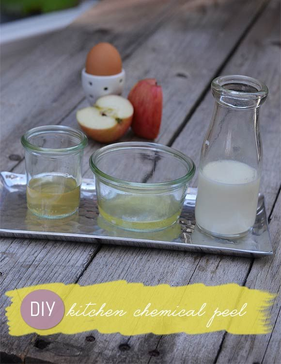 The Secret Ingredients of a Kitchen DIY Chemical Peel | Make up ...