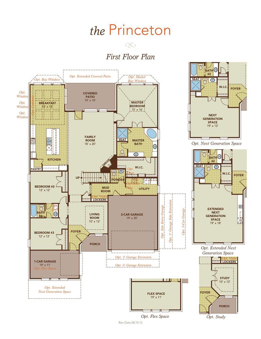 Princeton Home Plan By Gehan Homes In Westwood Floor Plans House Plans Master Room