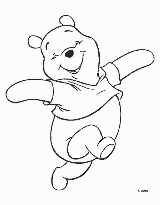 Coloring Pages Baby Pooh Bear Coloring Pages Disney Coloring