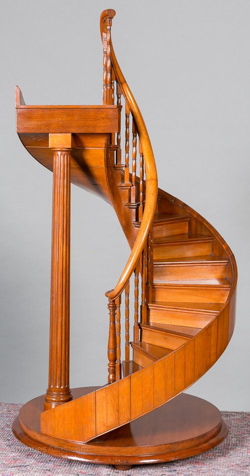 Best Antiques Atlas Bespoke Scale Model Spiral Staircase 400 x 300