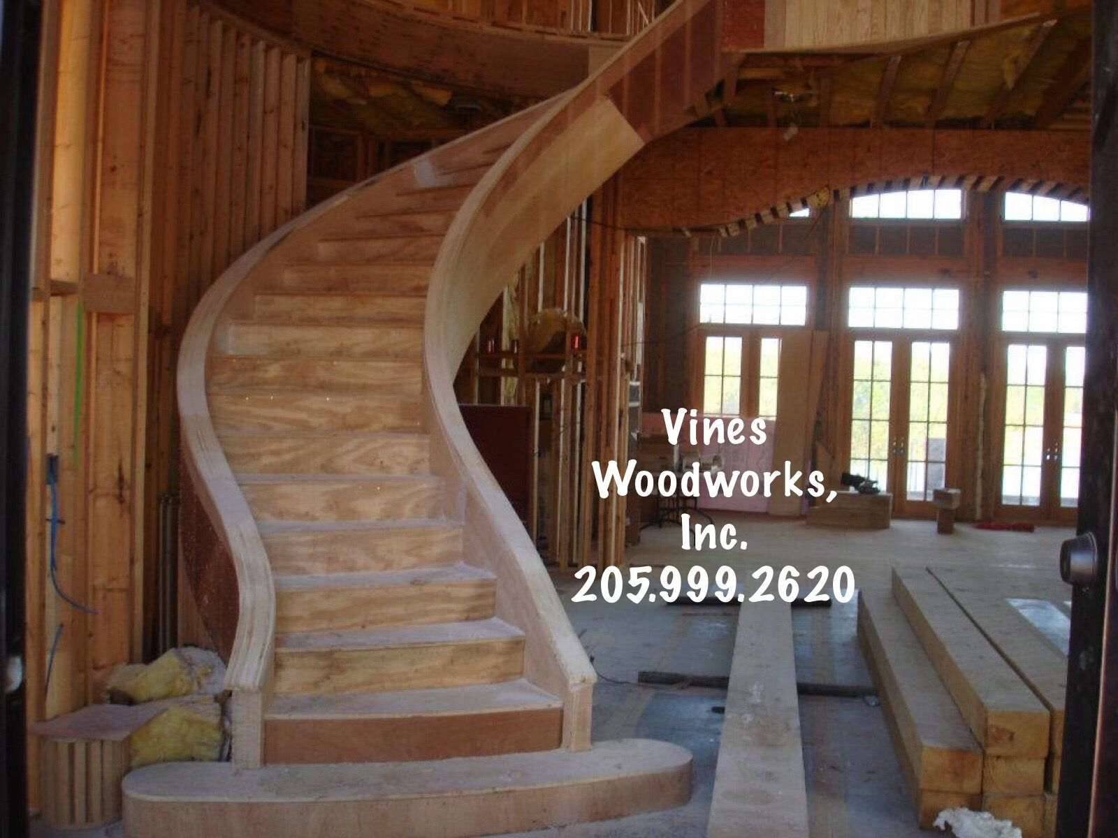 Captivating Vines Woodworks, Inc. Is A Turn Key Custom Stair Builder. We Specialize
