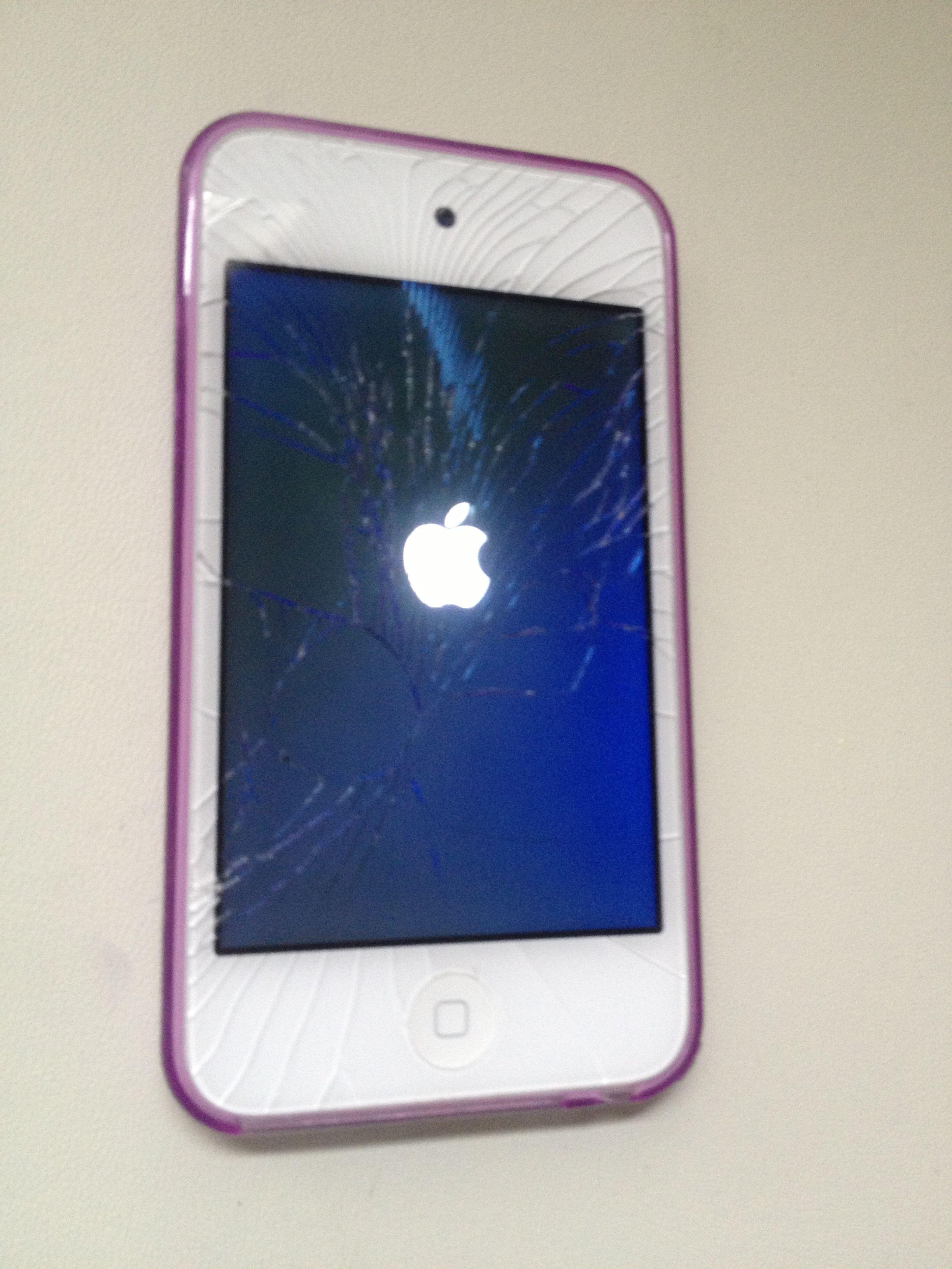 iPod Touch 4 Cracked Screen Repair,iPhone repair,iPad