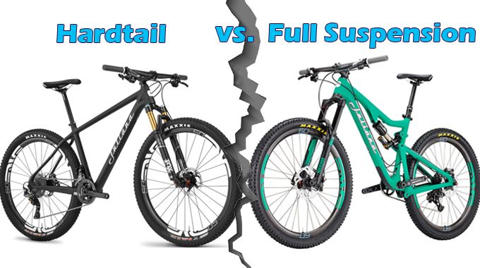 Buying Guide Hardtail Vs Full Suspension Mountain Bikes With
