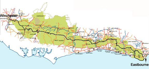 South Downs Way Map Pdf UK   National Trails. Have done large bits of the South Downs Way