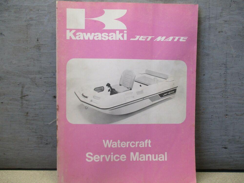 kawasaki jetmate manual