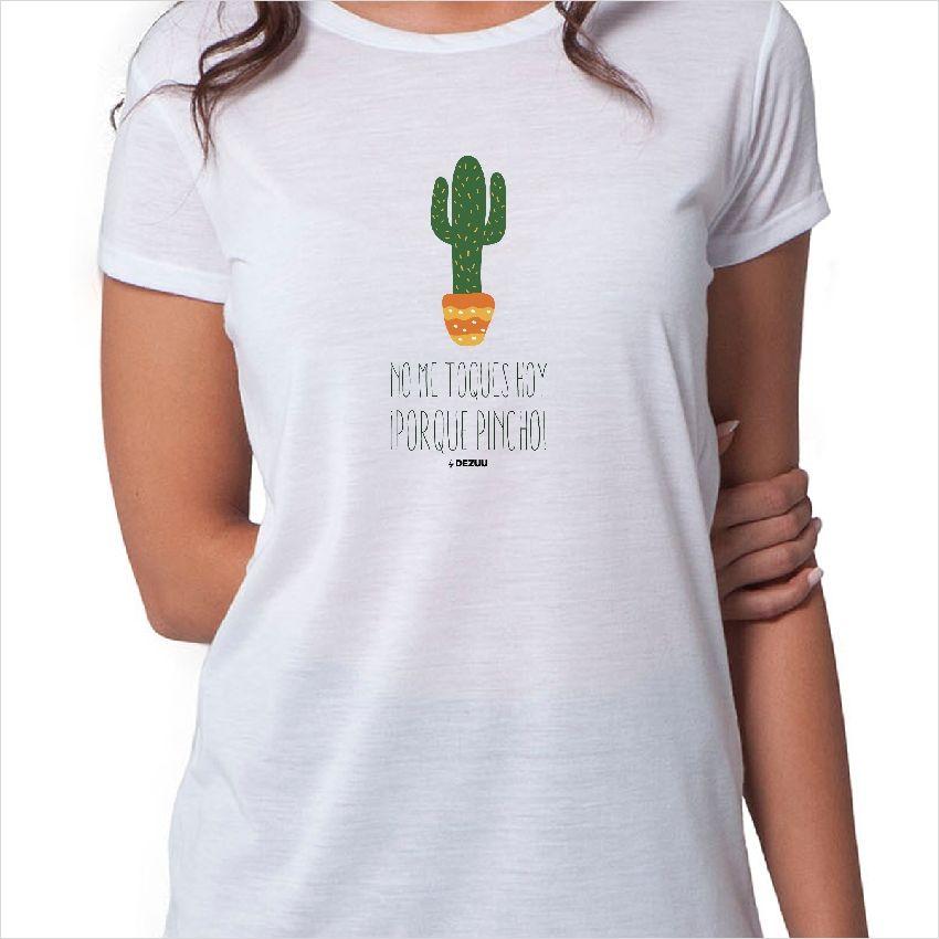 Camiseta cactus pincho Frases De Cactus e4a42c79a460f