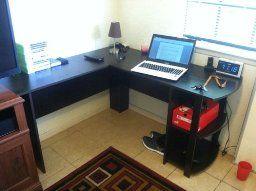 Pin By Lean Strategies International On Office Bookshelf Desk L Shaped Desk Desk