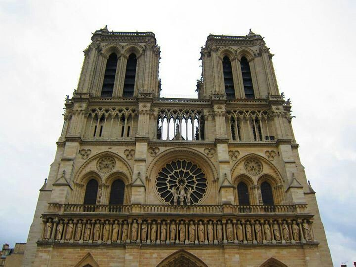 Notre Dame Cathedral #Paris #Travel #Church #France