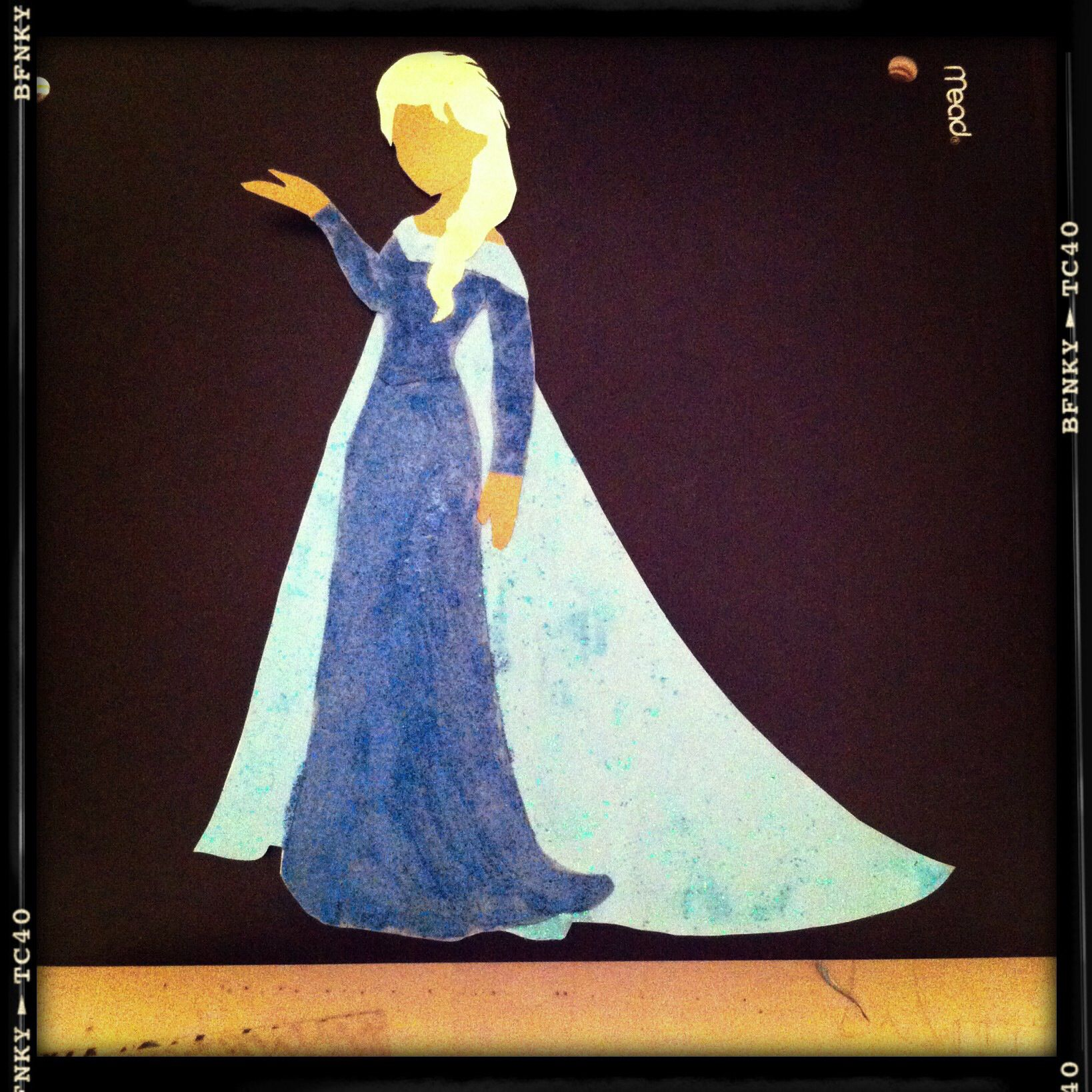 Queen Elsa In Paper Form All You Need Is A Coloring Book