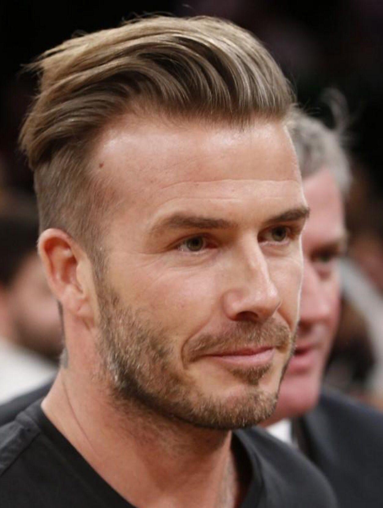 undercut comb over   eye candy in 2019   beckham haircut