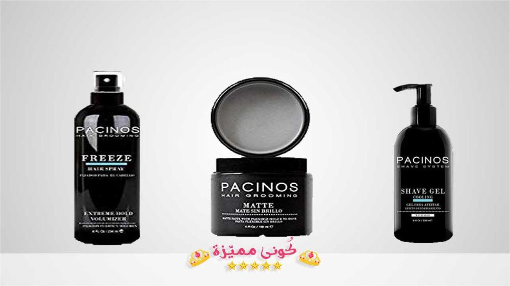كريم باسينوس لشعر صحي كثيف بدون تساقط Pacinos Creme Shave Gel Shampoo Bottle Gel