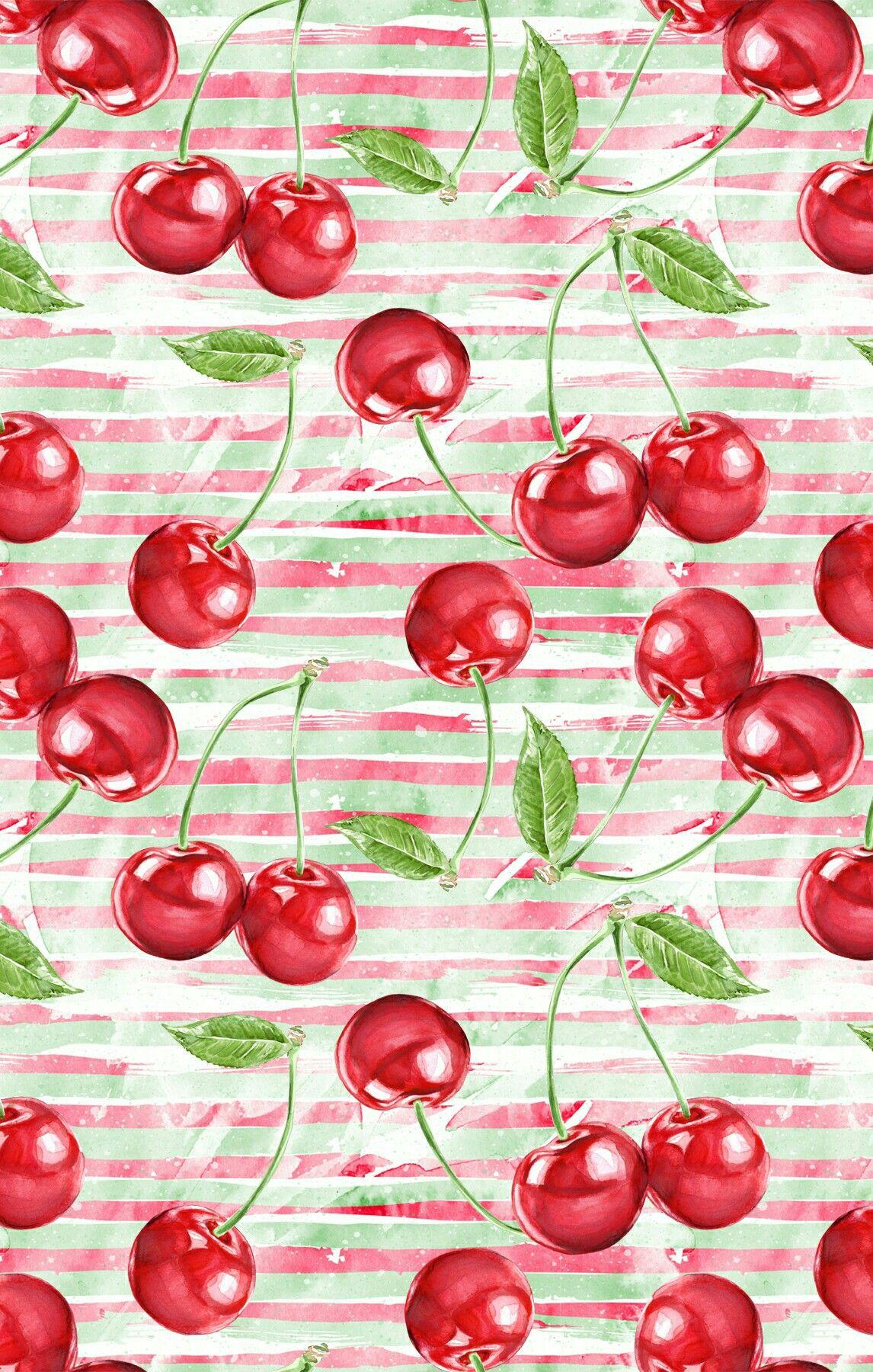 Chimmy cherry Fruit wallpaper