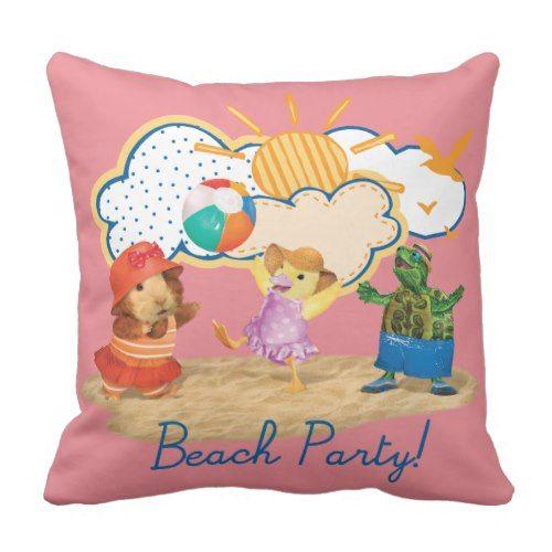 Wonder Pets Beach Party Throw Pillow Pillows Throw Pillows Wonder Pets