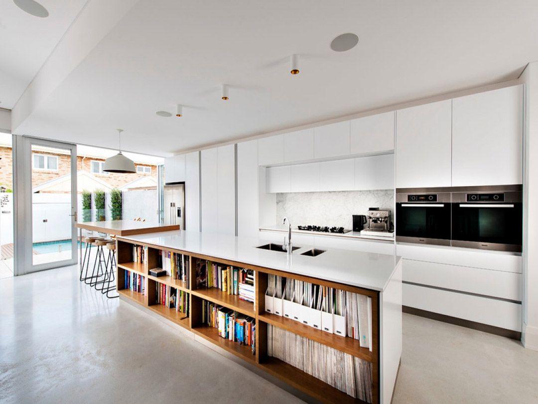 100 idee di cucine moderne con elementi in legno | Interni | Cucina ...