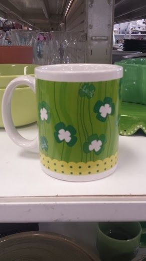 Six Under Six: Don't Get Pinched!   DC Goodwill Fashionista: Coffee Lovers.  Mugs from Goodwill usually run between $0.99 – $1.99. Budget friendly and spirited!