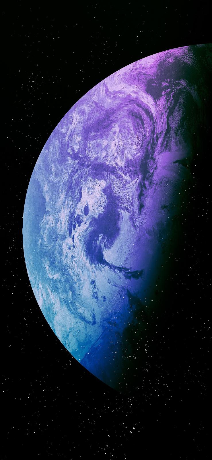 Hành tinh màu sắc hình nền cho tất cả iPhone trong 2020