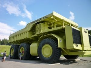 Sparwood Bc Canada Home Of The World S Biggest Truck There Is