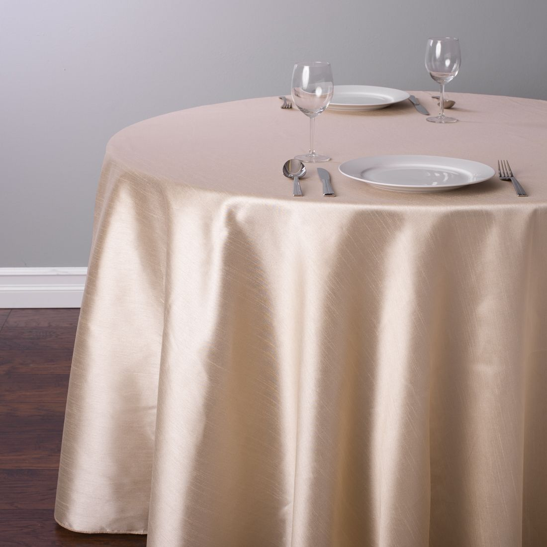 118 In Round Shantung Silk Tablecloth Beige Table Cloth White Round Tablecloths Tablecloth Rental