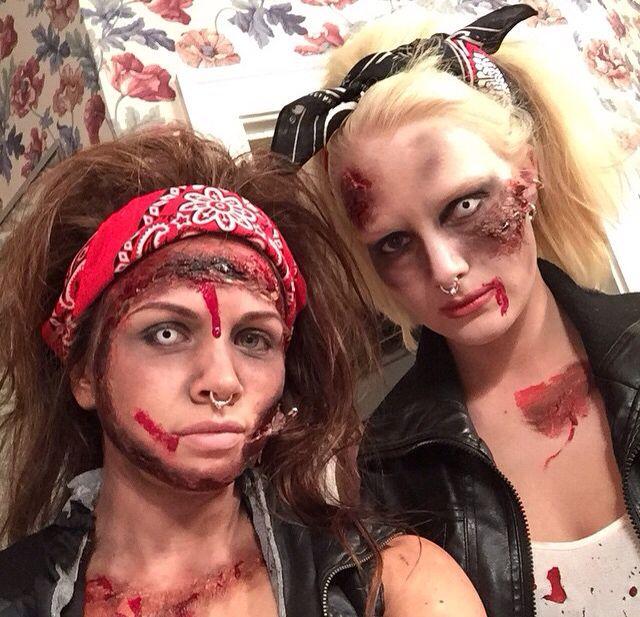 Zombie Biker Chicks Holidays Bdays Celebrations Pinterest