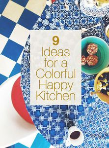 9 EASY STEPS TO A HAPPY & COLORFUL KITCHEN | eBay