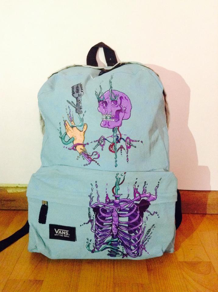 mochila para proyecto vans back to school
