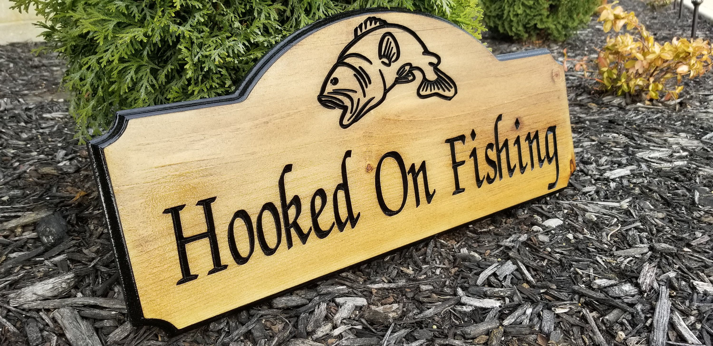 photograph about Homemade Signs Ideas referred to as Fishing Present, Picket Indicators Sayings, Dyi Wooden Indications, Do-it-yourself