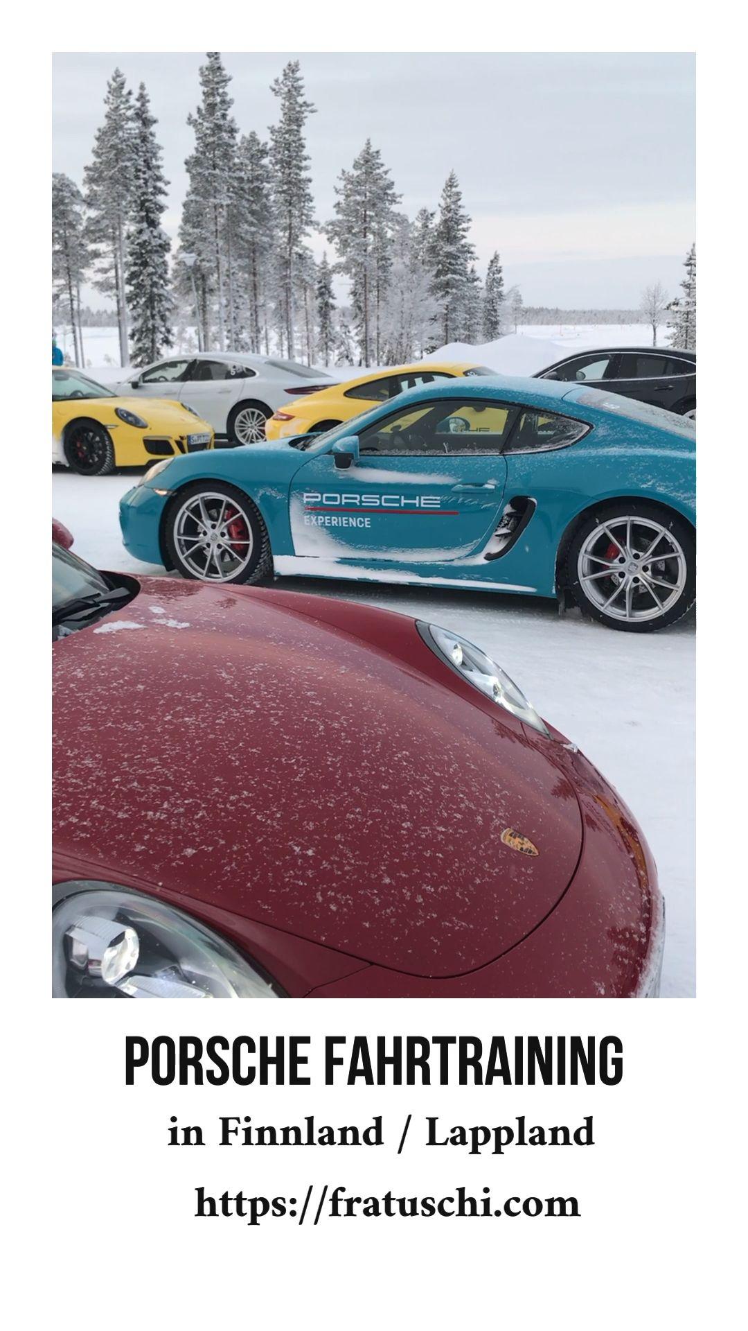 Porsche Fahrertraining In Finnland Fahren Auf Eis Schnee Video Fahrtraining Finnland Und Porsche