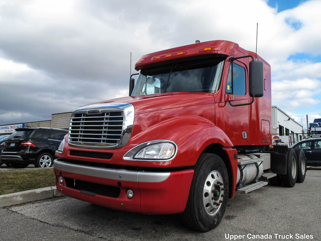 Just Arrived 2 2010 Freightliner Columbia 455hp Detroit Series 60 13 Speed 12 000 40 000 Axle Cap Stock 4103399 A Freightliner New Trucks Built Truck