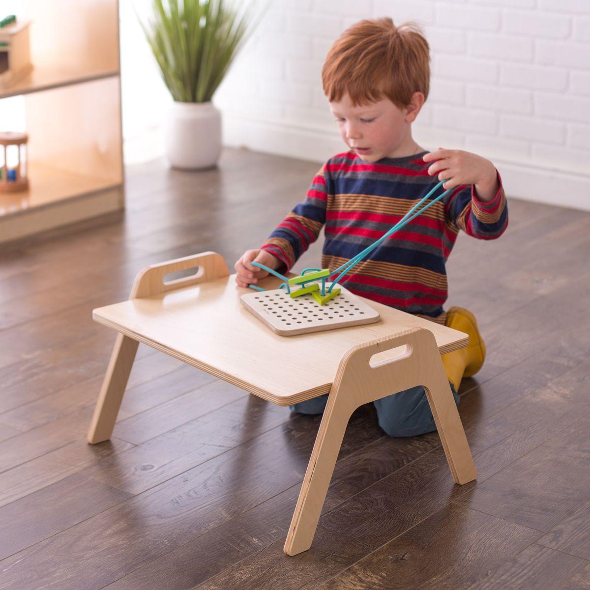 Chowki Floor Table Montessori Toddler Furniture Toddler Furniture Floor Table