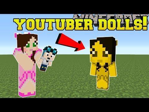 Minecraft Youtuber Dolls Dantdm Popularmmos Stampylonghead