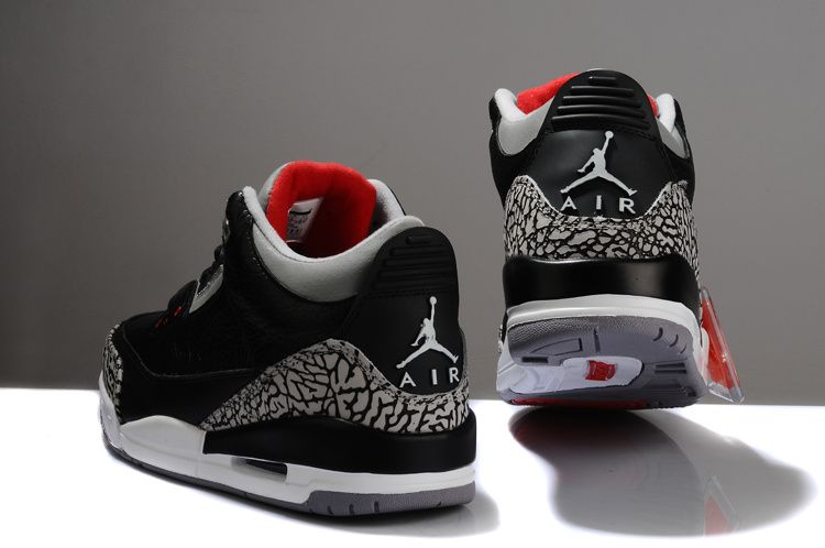 Air Jordan 3 Faux Ciment Noir Vs Diamant Réel