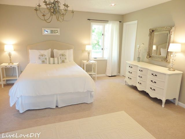 How To Make An Upholstered Headboard With A Drop Cloth Como Hacer Un - Hacer-cabecero-acolchado