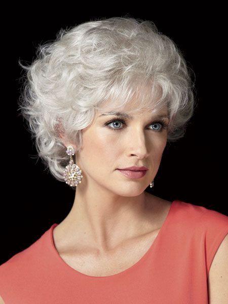 coiffure courte cheveux blanc   Projets à
