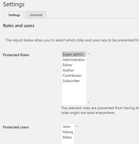 Disable password reset WordPress