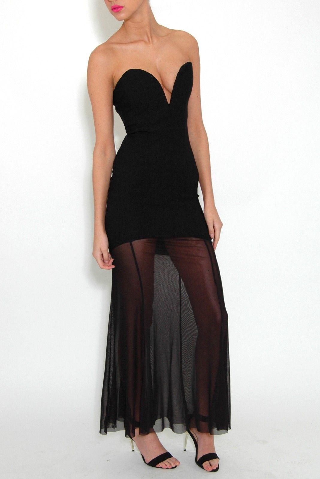Park Art My WordPress Blog_Black Cut Out Dress Maxi