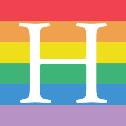 46 Beautiful Rainbow Brand Logos Celebrating Marriage