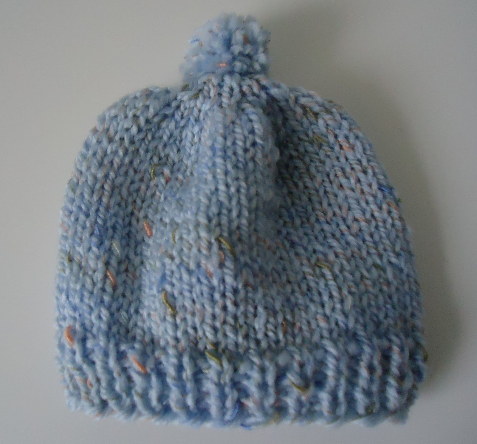 Newborn Knit Hat for Hospitals - The Make Your Own Zone Printable ...