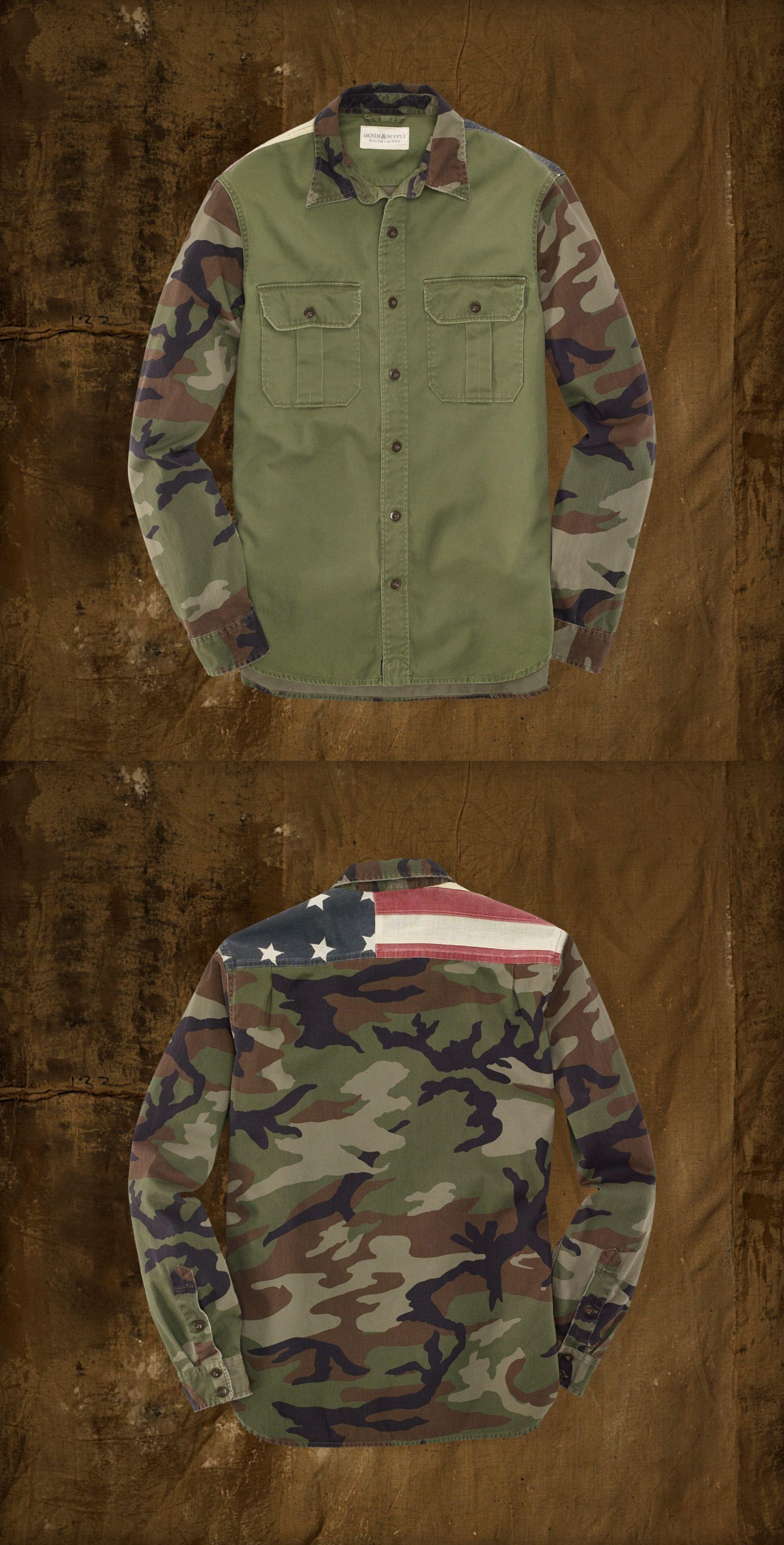 79f050385ce92 Ralph Lauren Denim Supply Camo Shirts, Boys Shirts, Ralph Lauren Mens Shirts,  Polo