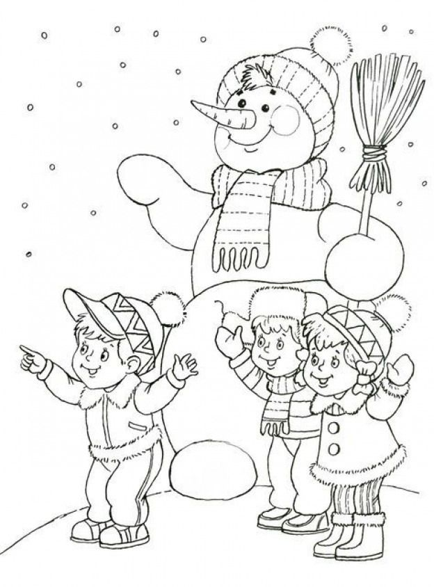 Wintersport Winter Sport Coloring Pages