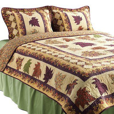 Hedaya Autumn Leaves Quilt Set At Kohls Quilt Sets Master