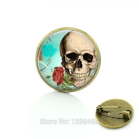Sugar Skull jewelry Vintage