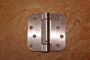 "Satin Nickel 4/"" X 4/"" X 5//8/"" Exterior Hinge"
