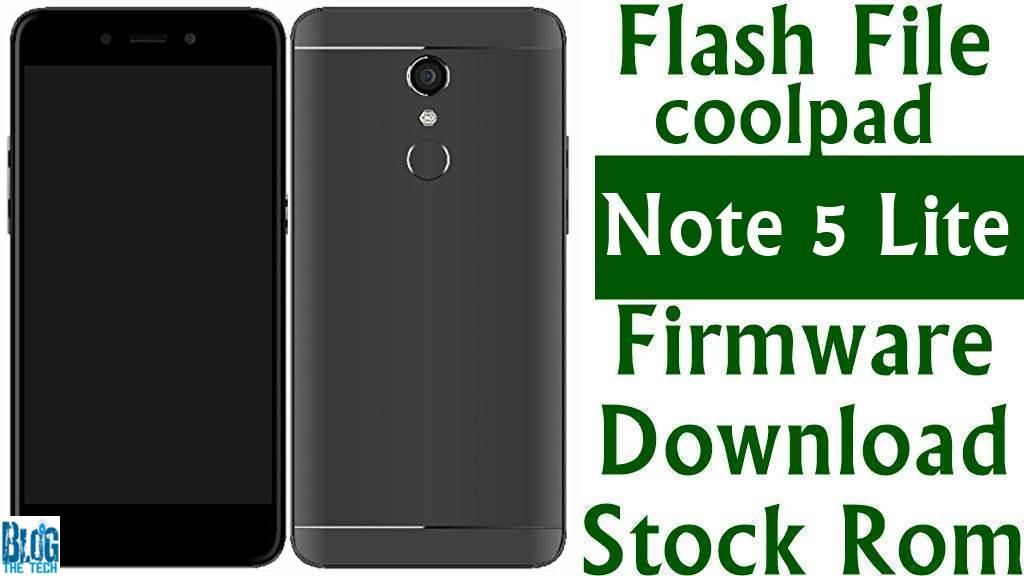 Flash File] Coolpad Note 5 Lite 3505I Firmware Download [Stock Rom