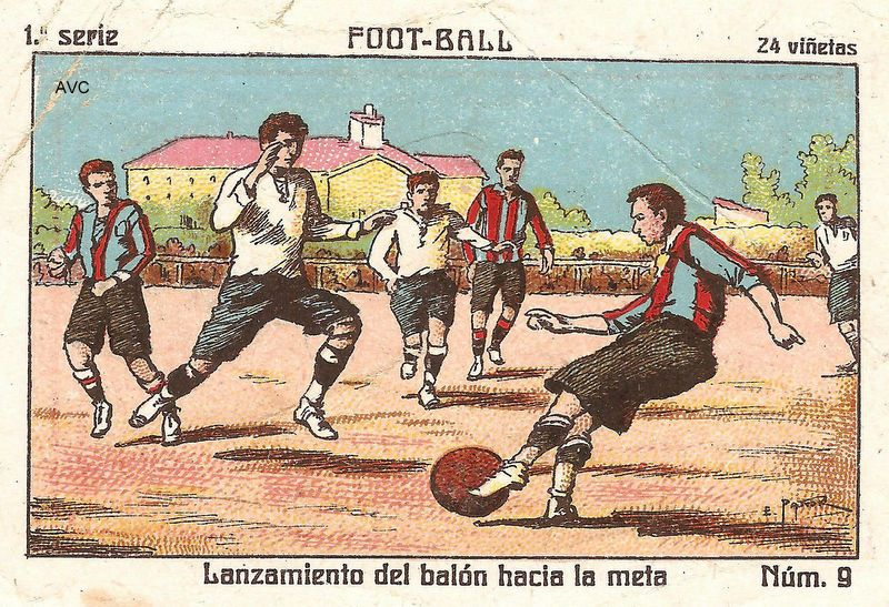 ACCIONES Y NORMAS DEL JUEGO - 1930 (Chocolates Marcos Tonda ...