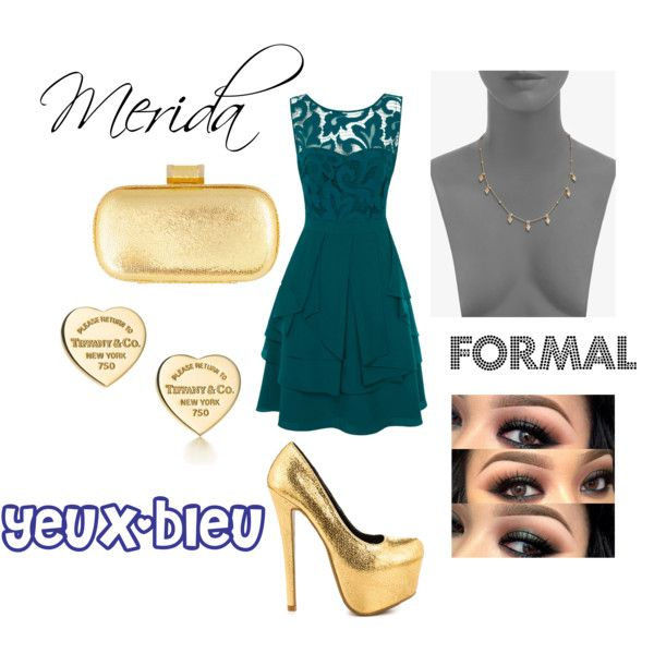"""""""Merida Formal"""" by yeux-bleu on Polyvore"""