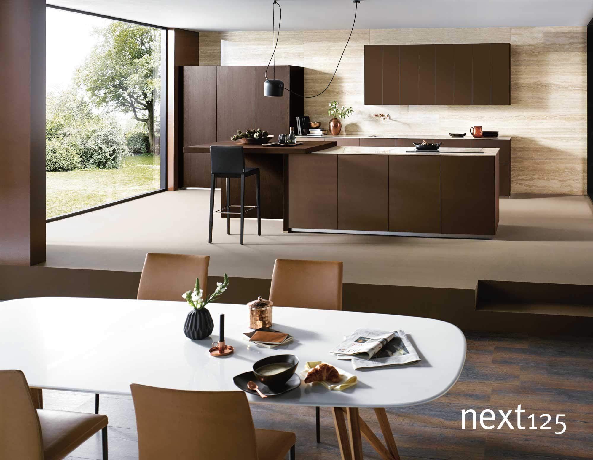 Ihre neue next125 Küche! DesignKüche nx902 in Bronze