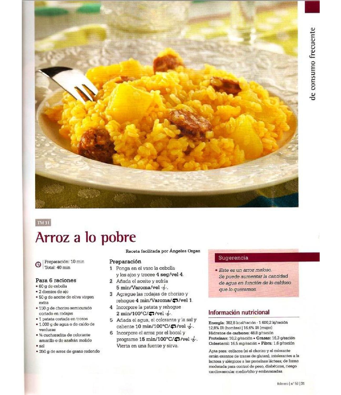 Revista thermomix nº52 cocina diaria, simple y deliciosa by argent ...