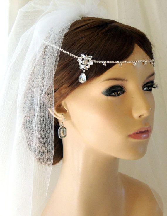 Silver Wedding Bridal Tiara Kim Kardashian By Svitlanasbridalveils 4595